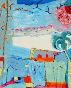 Jardin d'Esilda 100 cm x 81 cm 2010