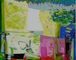 Jardin d'Estée 162 cm x 130 cm 2010