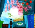 Jardin d'Ervin 100 cm x 81 cm 2010