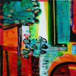 Jardin d'Esperie 40 cm x 40 cm 2010