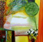 Jardin d'Evestan 40 cm x 40 cm 2010