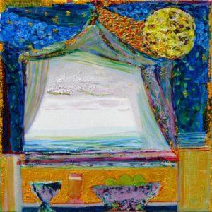 Jardin d'Evysa 40 cm x 40 cm 2010