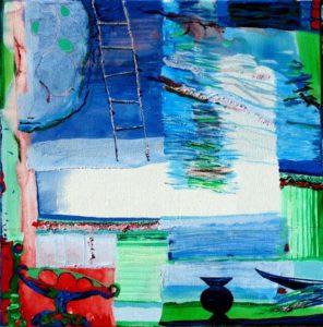 Jardin de Faye 50 cm x 50 cm 2010