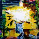 Jardin de Fedalie 50 cm x 50 cm 2010