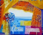 Jardin de Florain 100 cm x 81 cm 2011