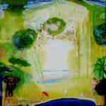 Jardin d'Eden 100 cm x 100 cm 2011