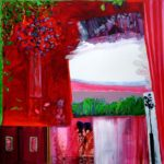 Jardin de Gaetan 100 cm x 100 cm 2011