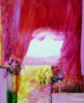 Le jardin d'Haïda 100 cm x 81 cm 2011