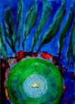Le jardin d'Isadora 100 cm x 73 cm 2012