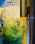Le jardin d'Icham 100 cm x 81 cm 2012