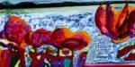 Marcel Duchamp soulageant son désir 80 cm x 40 cm 2012