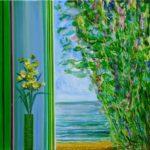 Faune te surprenant à ta fenêtre 40 cm x 40 cm 2012