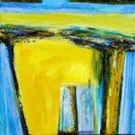 La paix sous les grands arbres 50 cm x 50 cm 2012