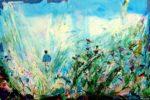 La joie de retrouver mon père 195 cm x 130 cm 2012