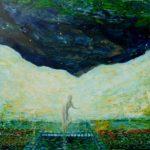 Quand les étoiles frissonnent 80 cm x 80 cm 2012