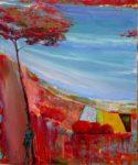 Mercure un soir 55 cm x 46 cm 2012