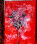 Puisque je ne fleuris pas ta tombe, nouveau bouquet pour mon père 46 cm x 38 cm 2013