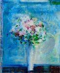 Bouquet un soir, la mer au fond 46 cm x 38 cm 2013