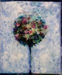 Quand aux premiers frimas,ton bouquet montrait son coté sucré 46 cm x 38 cm 2013